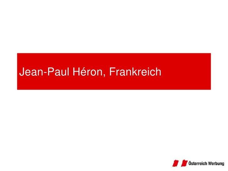 Jean-Paul Héron, Frankreich<br />