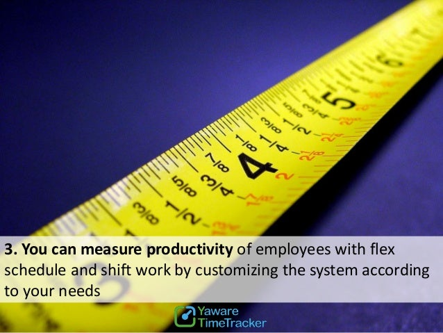 How is employee productivity measured?