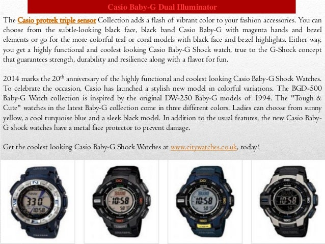 Highly functional and coolest looking casio baby g shock watches Slide 3