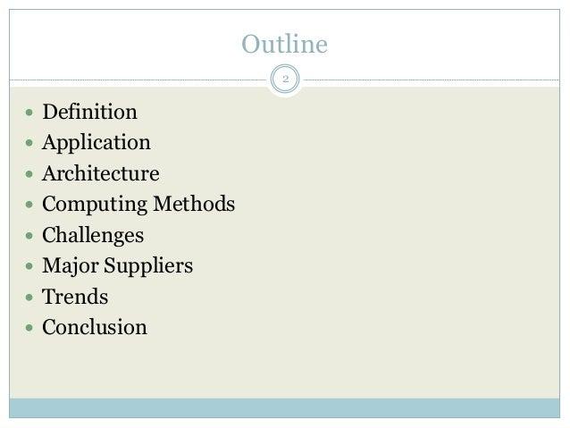 High performance computing Slide 2