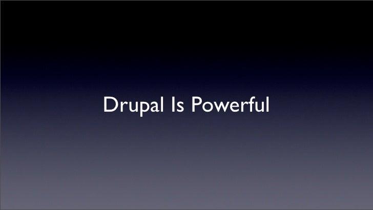 High Performance Drupal Slide 2