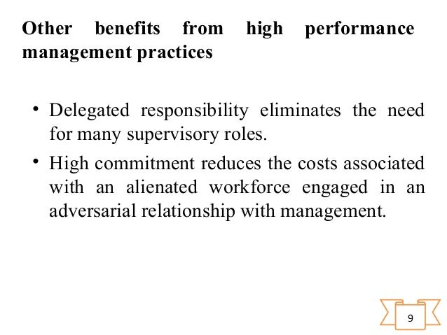 high performance management As a finance professional you are faced with numerous challenges: enabling  forecast management and predictive modelling controlling risks and ensuring.