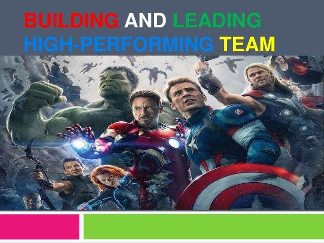 High performing team,team building,Team management