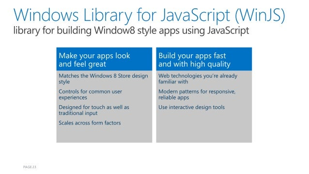 how to develop windows application