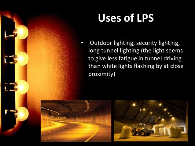 ... monochromatic yellow color; 5. Uses of LPS u2022 Outdoor lighting ...  sc 1 st  SlideShare & High pressure sodium azcodes.com