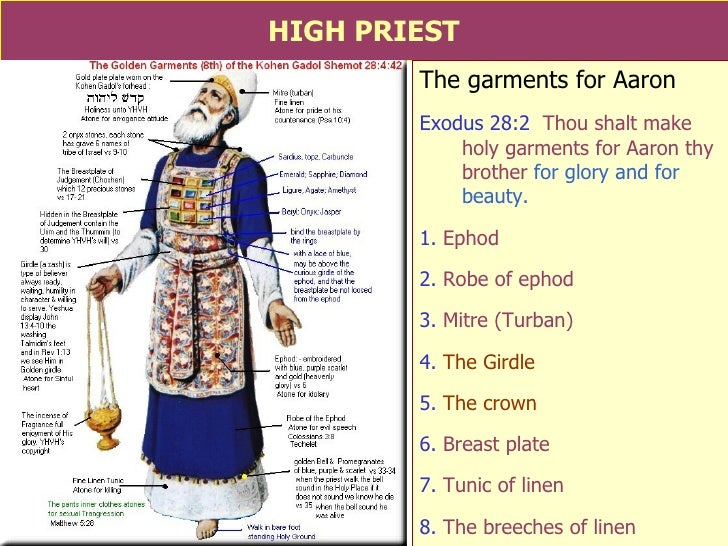 """ot priesthood By j l leifeste """"therefore, holy brethren, partakers of the heavenly calling, consider the apostle and high priest of our confession, christ jesus"""" (hebrews 3:1) god established a priesthood under the law of moses."""