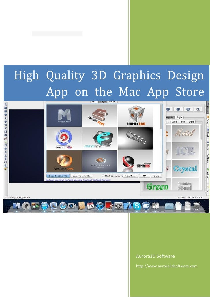 High Quality 3d Graphics Design App On The Mac App Store