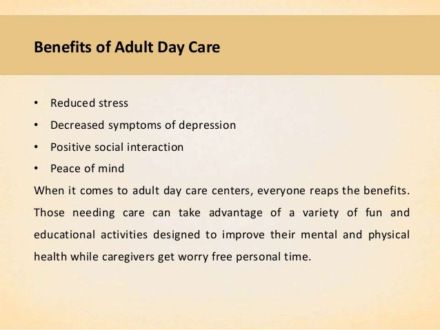 quality adult care