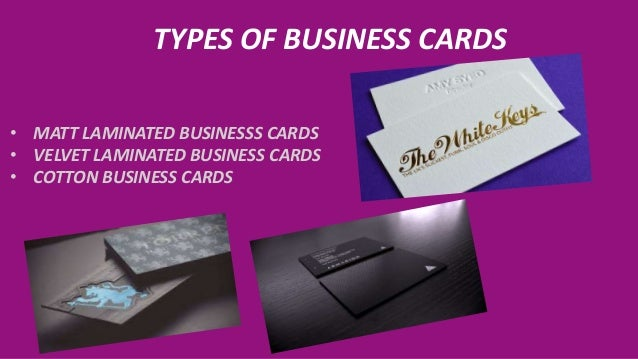 High quality business cards flyers and brouchers in toronto canada 4 types of business cards reheart Images