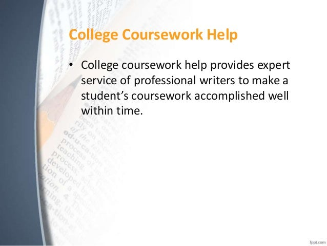 How can you get coursework help online?