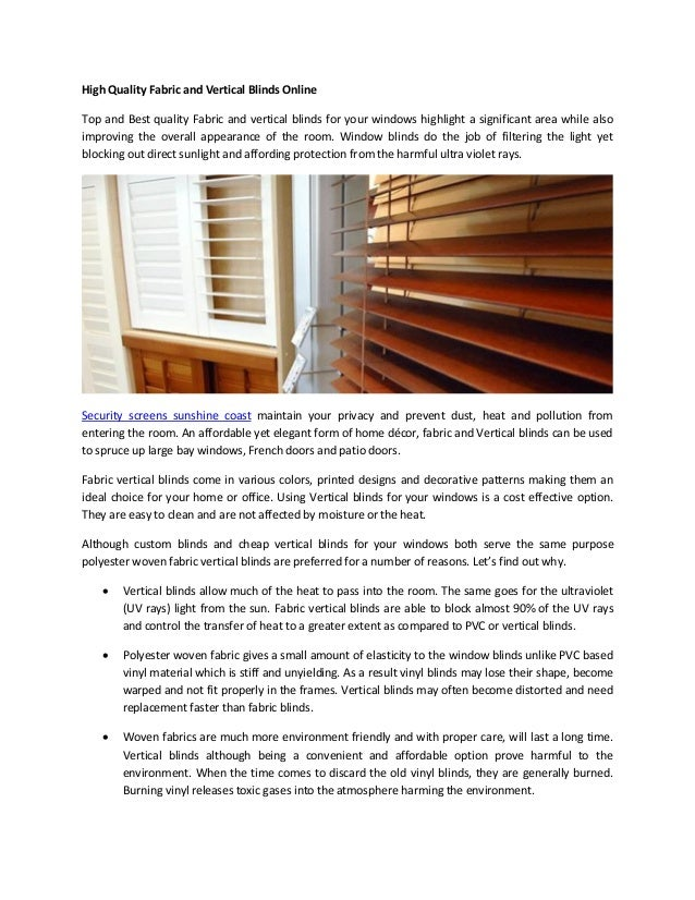 High Quality Fabric And Vertical Blinds Online Top And Best Quality Fabric  And Vertical Blinds For ...