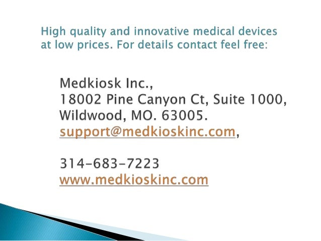 High quality medical monitoring devices at low price