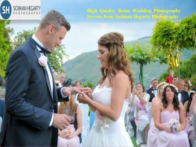 High Quality Rome Wedding Photography Service from Siobhan Hegarty Photography