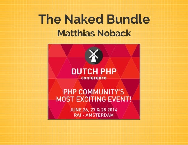The Naked Bundle Matthias Noback