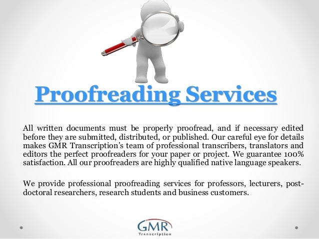 Proofreading services rates uk