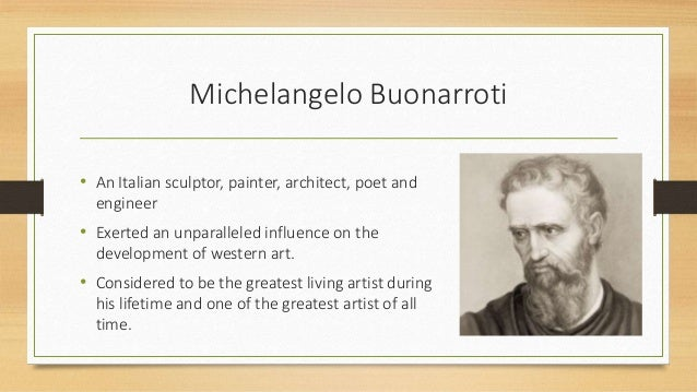 michelangelo impact on renaissance Watch video explore the artistic life of michelangelo, considered the most famous artist of the italian renaissance and among the.