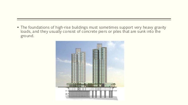 design of high rise building foundation Analysis design high rise concrete buildings you  500 building structure netherlands cd specification gb 50009 and the building foundation design specification.