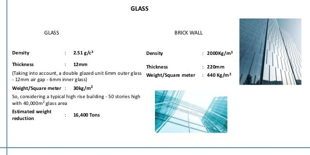 High rise construction for Thickness of glass wall for exterior