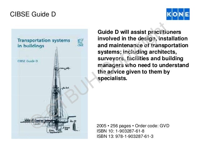CIBSE GUIDE D PDF DOWNLOAD