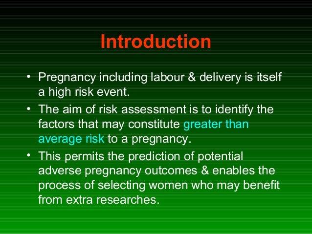 High risk pregnancy Slide 2
