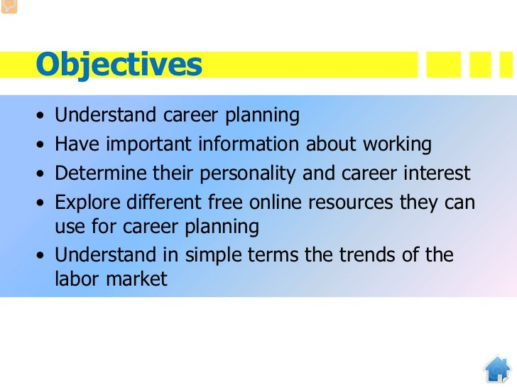 career objective