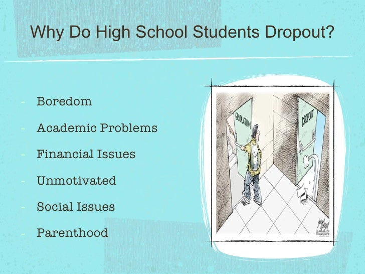 Four Solutions to School Dropouts