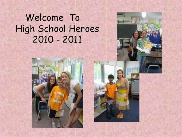 Welcome To High School Heroes 2010 - 2011