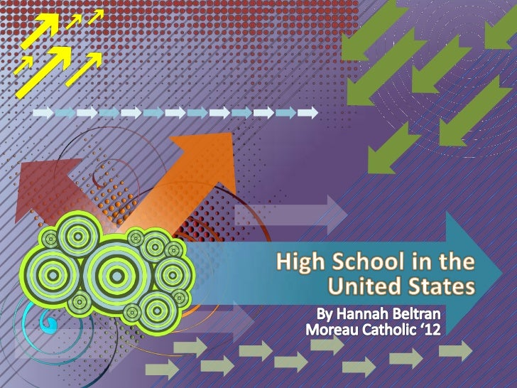 High School in the United States<br />By Hannah Beltran<br />Moreau Catholic '12<br />