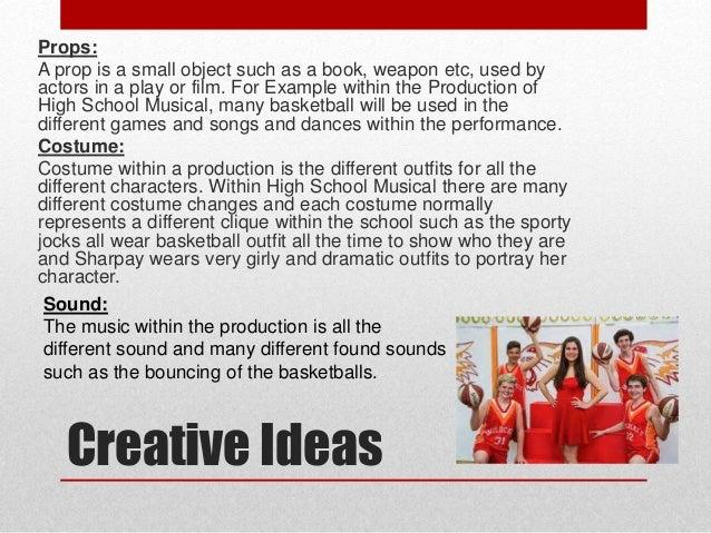high school musical powerpoint