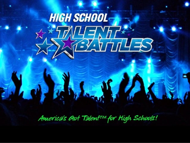 We are riding the wave of popularity of televised talent competitions to fund     public high school education