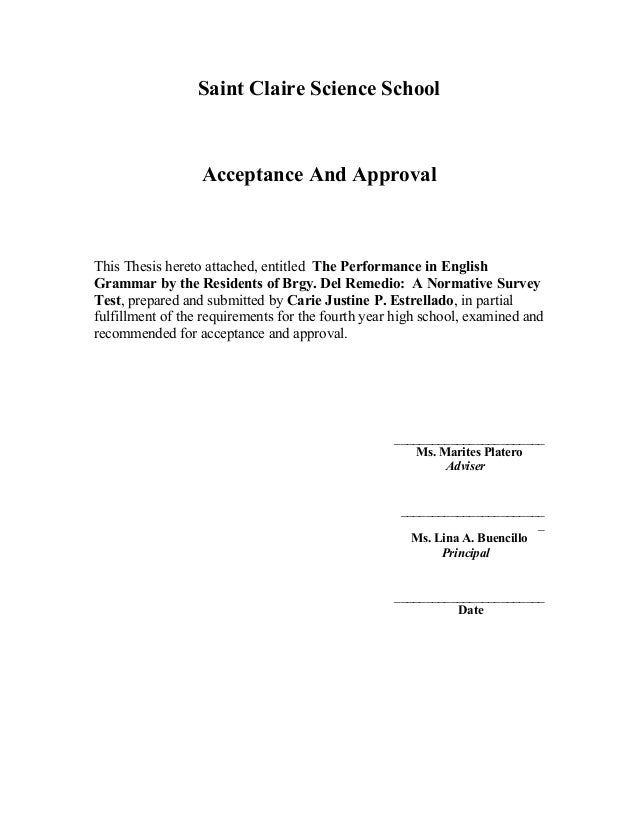 How to write acknowledgements for your dissertation