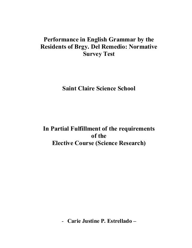 thesis on reading proficiency Hellekjær: academic english reading proficiency at the university level 199.