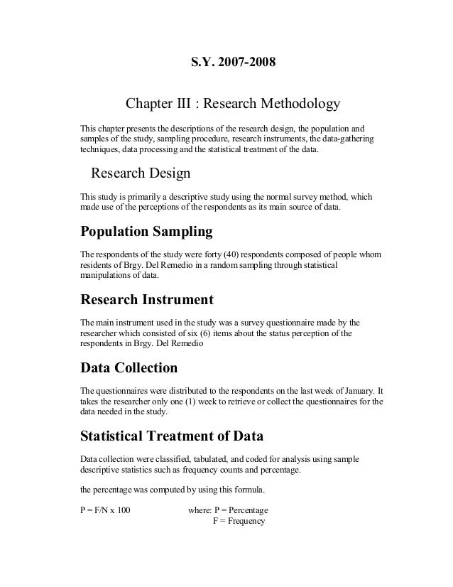 pages Chapter   Thesis Sample SlideShare