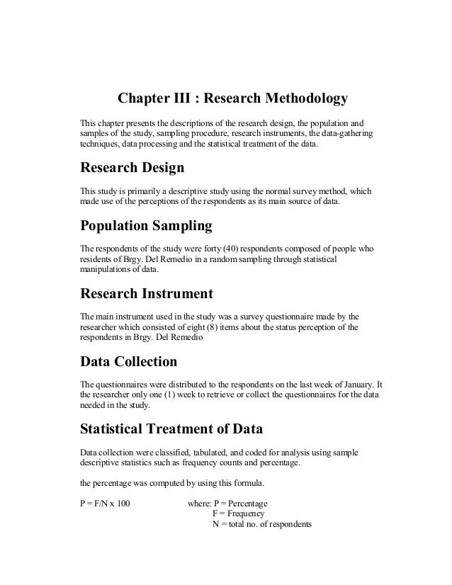 thesis chapter two format