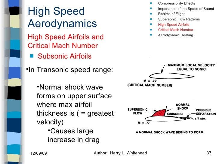 High Speed Aerodynamics <ul><li>Subsonic Airfoils   </li></ul><ul><li>Compressibility Effects </li></ul><ul><li>Importance...