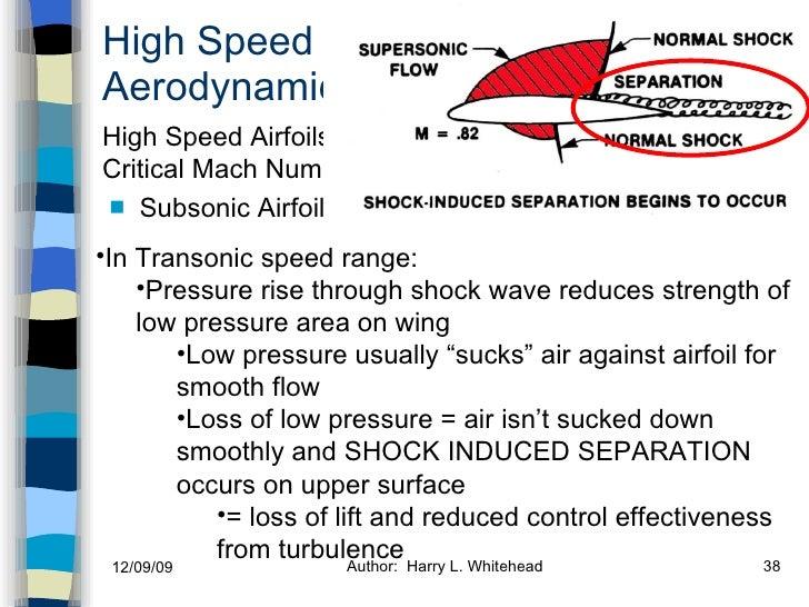 High Speed Aerodynamics <ul><li>Subsonic Airfoils  </li></ul><ul><li>Compressibility Effects </li></ul><ul><li>Importance ...