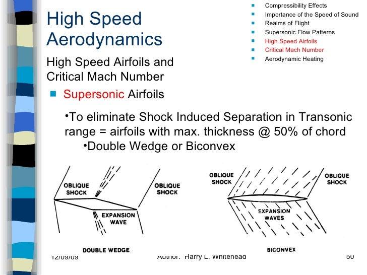 High Speed Aerodynamics <ul><li>Supersonic  Airfoils  </li></ul><ul><li>Compressibility Effects </li></ul><ul><li>Importan...