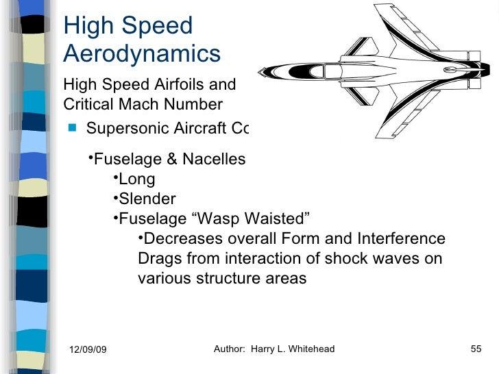 High Speed Aerodynamics <ul><li>Supersonic   Aircraft Configuration </li></ul><ul><li>Compressibility Effects </li></ul><u...