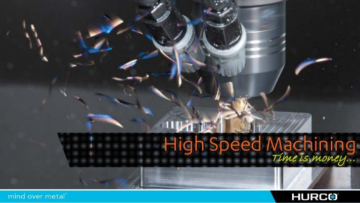 High Speed Machining           Time is money…