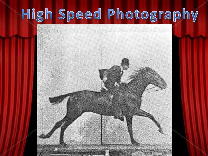 High Speed Photography<br />
