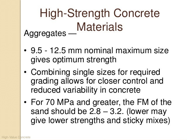 strength of concrete The compressive strength of concrete is the most common performance measure used by the engineer in designing buildings and other structures the compressive strength is measured by breaking cylin-drical concrete specimens in a compression-testing machine.