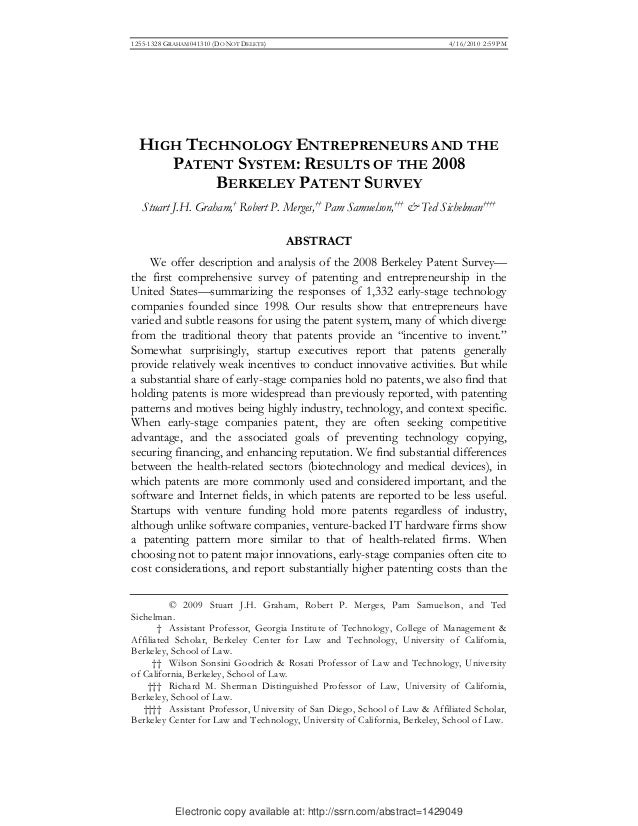 Electronic copy available at: http://ssrn.com/abstract=1429049 1255-1328 GRAHAM 041310 (DO NOT DELETE) 4/16/2010 2:59 PM H...