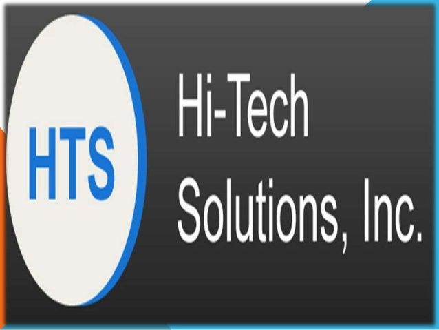 Hi tech technology solutions essay