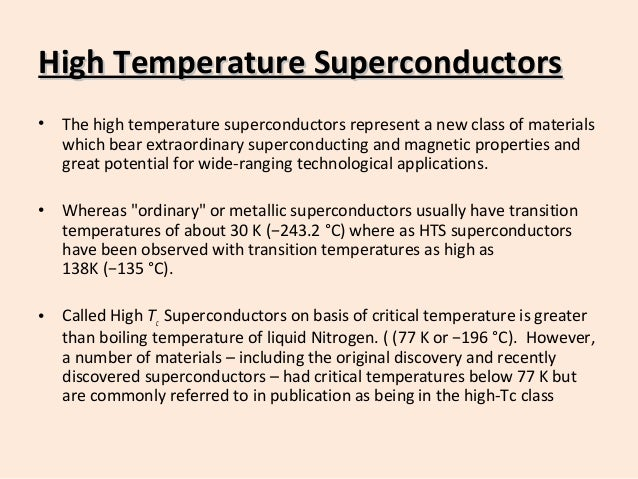 Introduction to High temperature superconductors