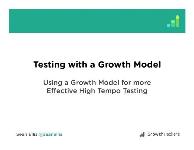 Testing with a Growth Model Using a Growth Model for more Effective High Tempo Testing