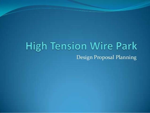 Design Proposal Planning