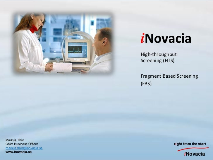 iNovacia                          High-throughput                          Screening (HTS)                          Fragme...
