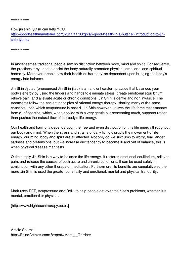 ==== ====How jin shin jyutsu can help YOU.http://goodhealthinanutshell.com/2011/11/03/ghian-good-health-in-a-nutshell-intr...