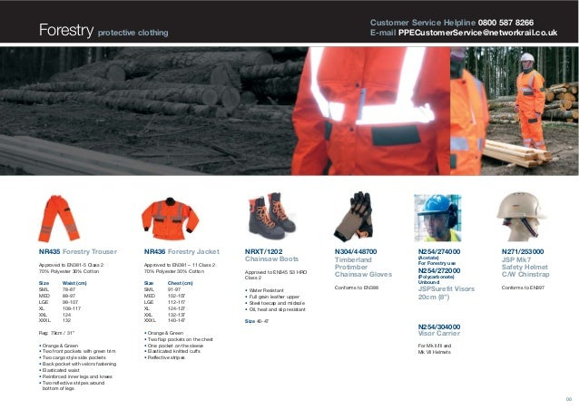 High Visibility Orange Personal Protective Clothing