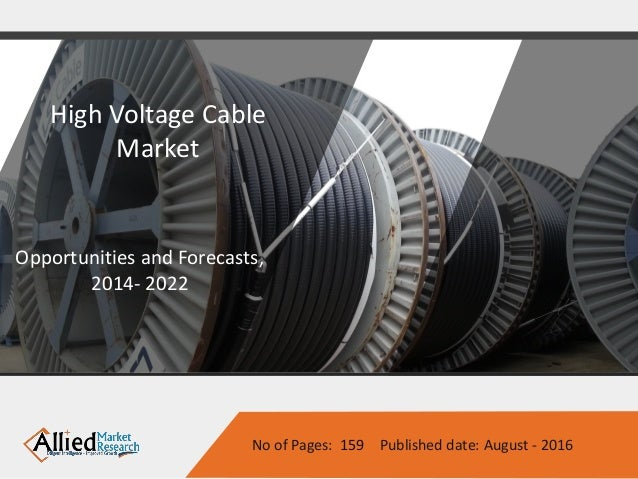 High Voltage Cable Splicing Certification : High voltage cable market by type and end user